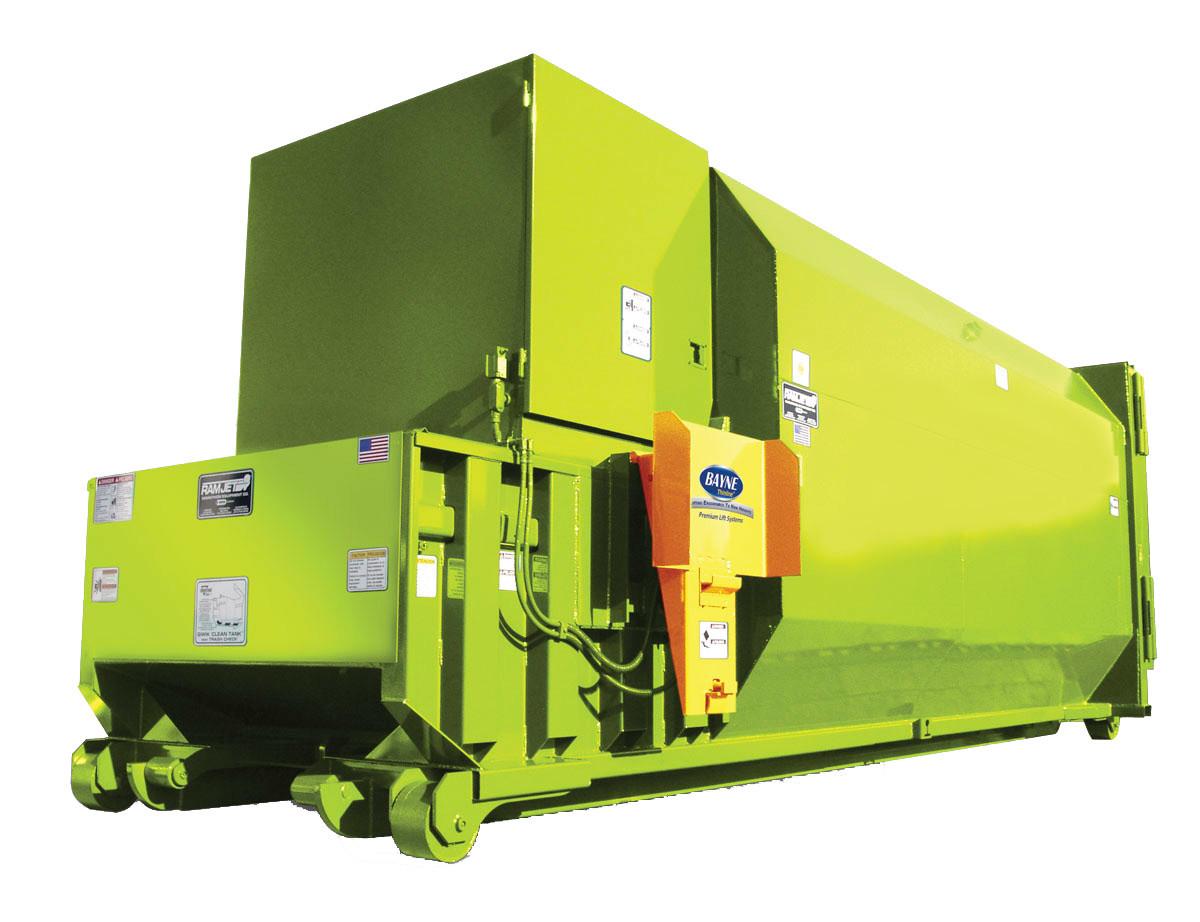 Rj 250sc rj 250ht compactors metro compactor service Garbage compactor